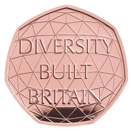 Diversity Built Britain 50p Coin
