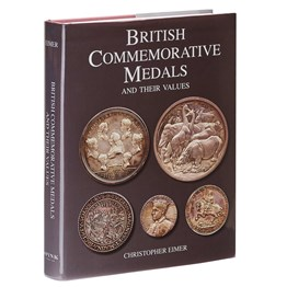 British Commemorative Medals & Their Values Book
