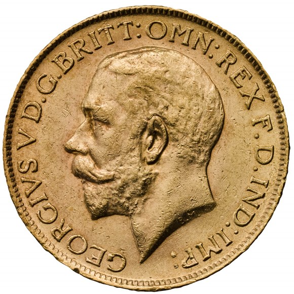 1913 George V Half Sovereign