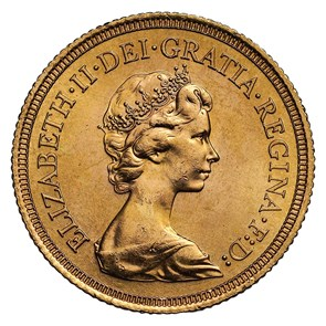 1974 Elizabeth II Uncirculated Sovereign