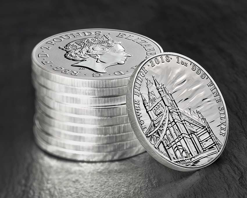 UK-Bullion-2018--999AG-Landmarks-of-Britain-Tower-Bridge-coin-stack.jpg