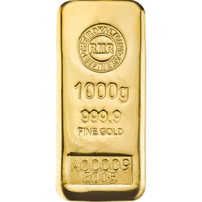 1 Kg Gold Bar Cast
