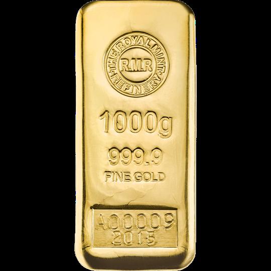 1 Kg Gold Bars The Royal Mint