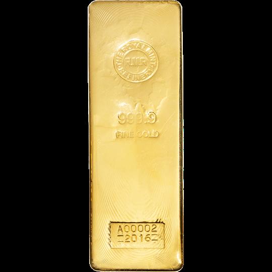 400 Oz Gold Bar The Royal Mint