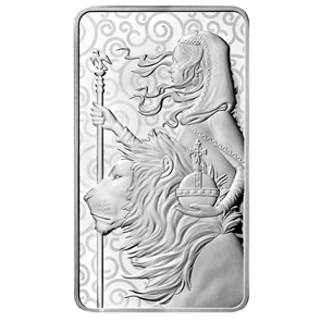 Una & the Lion 10 oz Silver Bar Minted