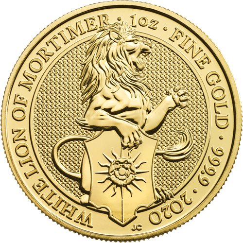 The Queen's Beasts Gold Bullion Coins