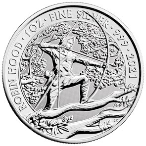 Robin Hood 2021 1oz Silver Bullion Coin