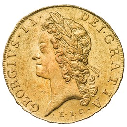 George II Five Guinea EIC