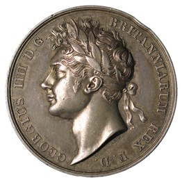 George IV, Silver Coronation medal