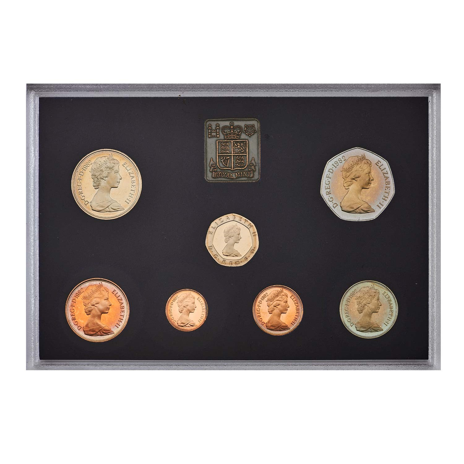 1982 United Kingdom Annual Proof Coin Set