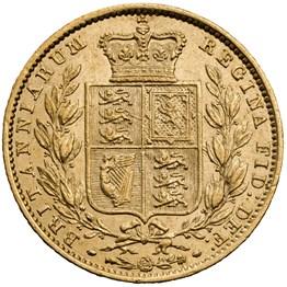 hislmsc80774 1852 sovereign reverse1