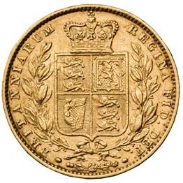hislmsc 1863 sovereign reverse