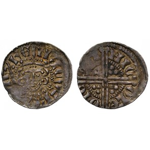 Medieval Voided Long Cross Silver Penny