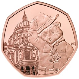 paddington at st pauls 2019 united kingdom gold proof coin reverse   uk19ppgp