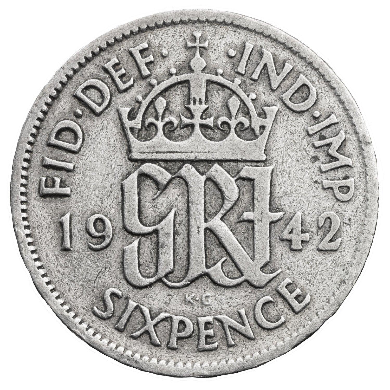 Lucky Sixpence Keepsake card Mint