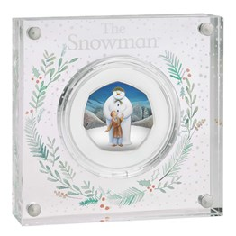 The Snowman 2019 UK 50p Silver Proof Coin