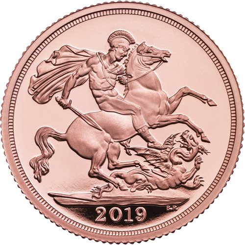 2019 Gold Proof Sovereigns