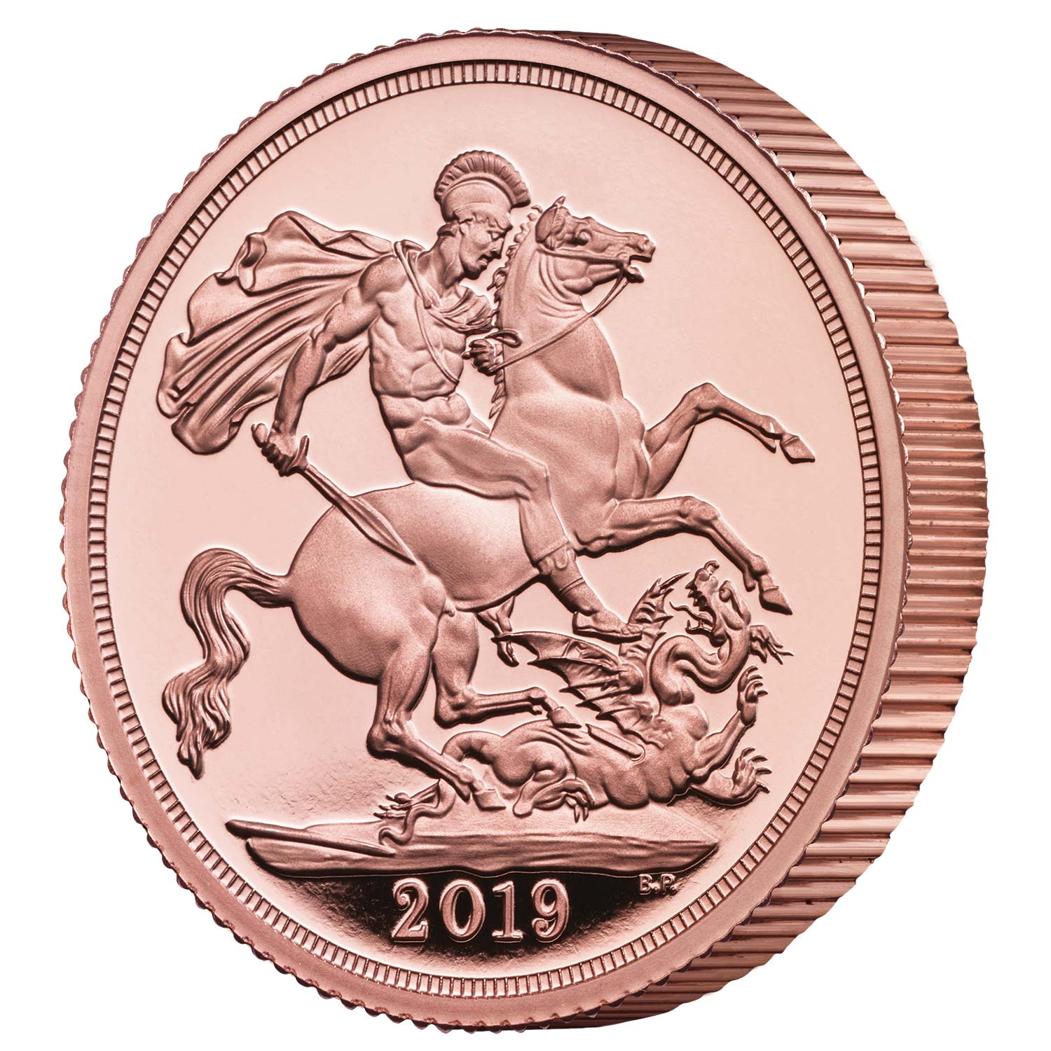 The Piedfort Sovereign 2019 Gold Proof Coin