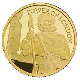 The Yeoman Warders 2019 UK Quarter-Ounce Gold Proof Coin