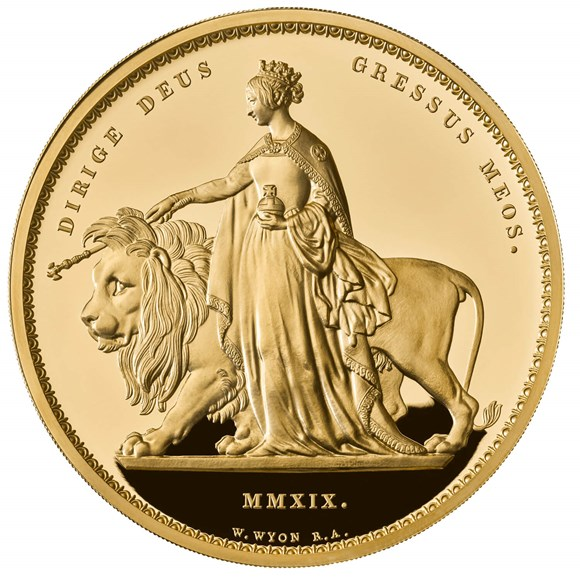 Una and the Lion 2019 UK Kilo Gold Proof Coin