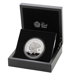 Queen Victoria 2019 UK Five Ounce Silver Proof Coin