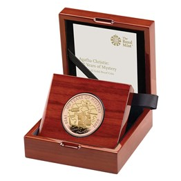 Agatha Christie: 100 Years of Mystery 2020 £2 UK Gold Proof Coin