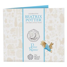 Peter Rabbit™ 2020 UK 50p Brilliant Uncirculated Coin