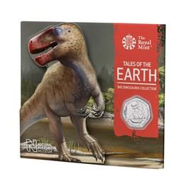 Brilliant Uncirculated Megalosaurus 2020 UK 50p coin