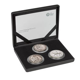 Longest Reigning Monarchs Silver Crown Set