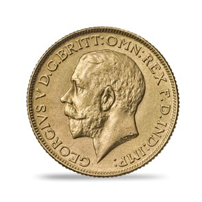 George V 1918 India Sovereign