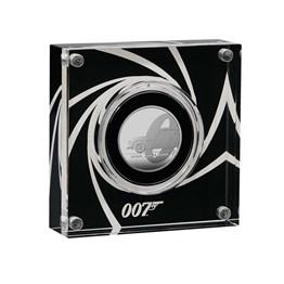 Bond, James Bond 2020 UK Half-Ounce Silver Proof Coin
