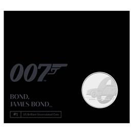 Bond, James Bond 2020 UK £5 Brilliant Uncirculated Coin