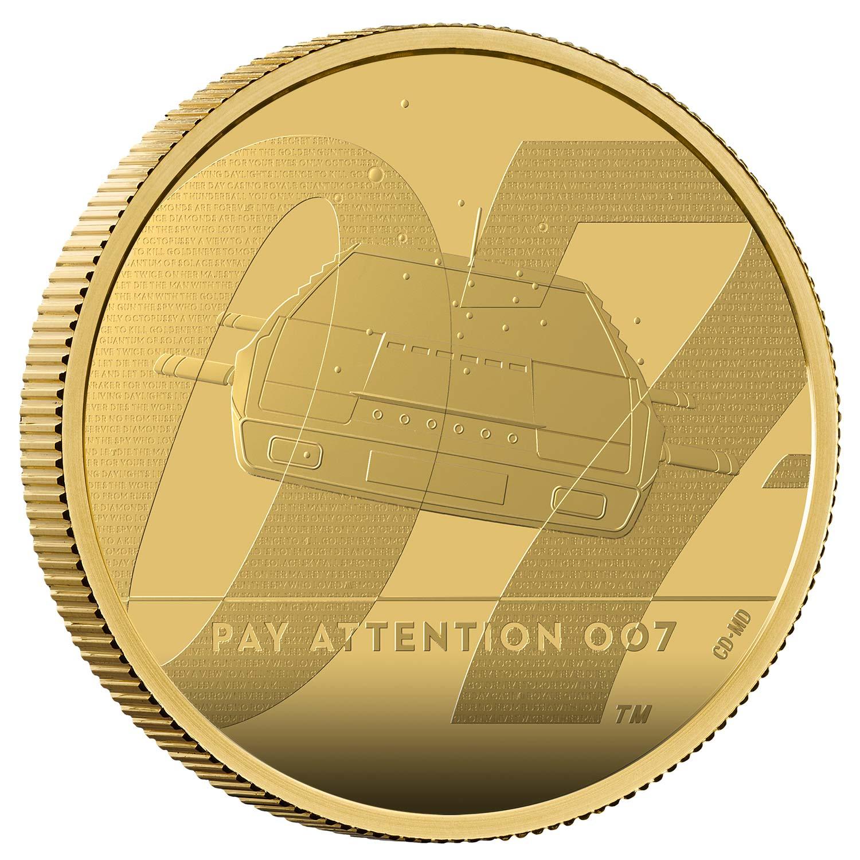 Pay Attention 2020 UK £5 James Bond 007 R2 Cupro-Nickel BU