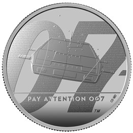 Pay Attention 007 2020 UK Two Ounce Silver Proof Coin
