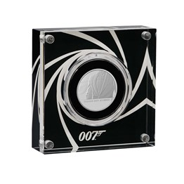 Shaken Not Stirred 2020 UK Half-Ounce Silver Proof Coin