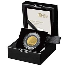 Shaken Not Stirred 2020 UK Quarter-Ounce Gold Proof Coin