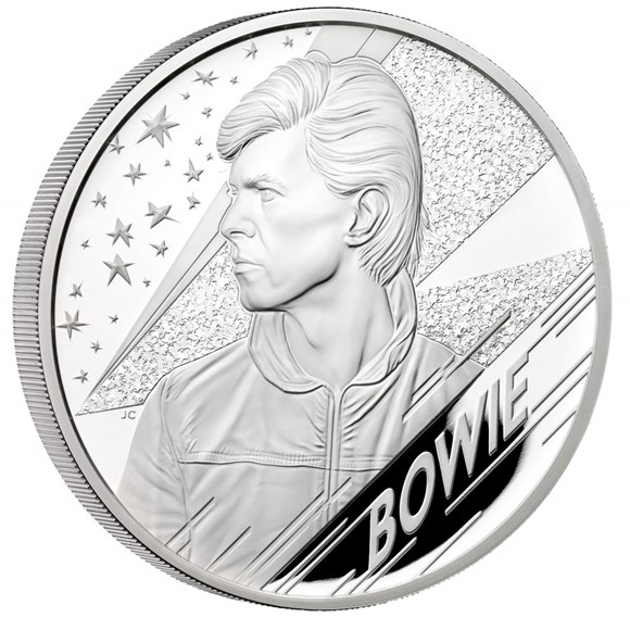 David Bowie 2020 UK 5oz Silver Proof Coin