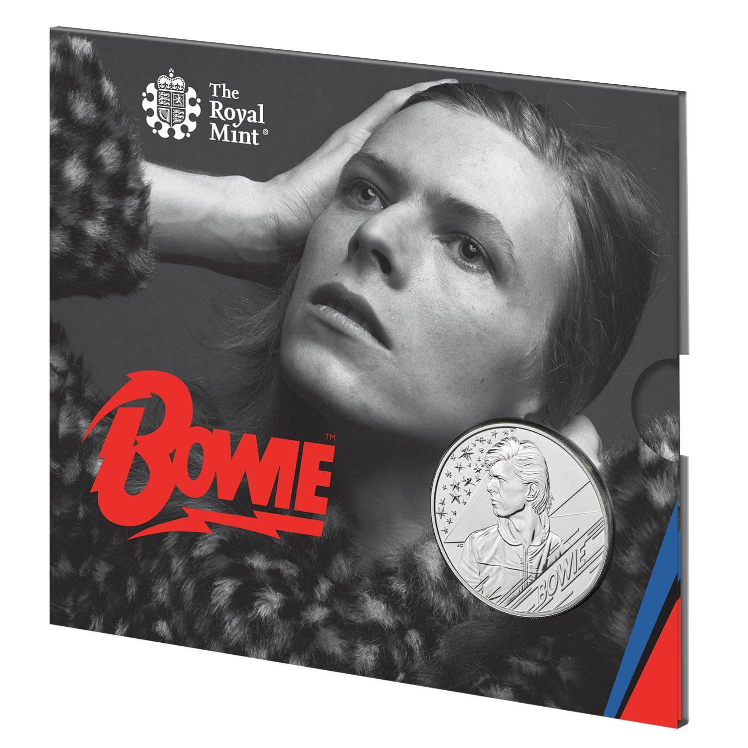 David Bowie 2020 £5 Brilliant Uncirculated Coin - Edition 1