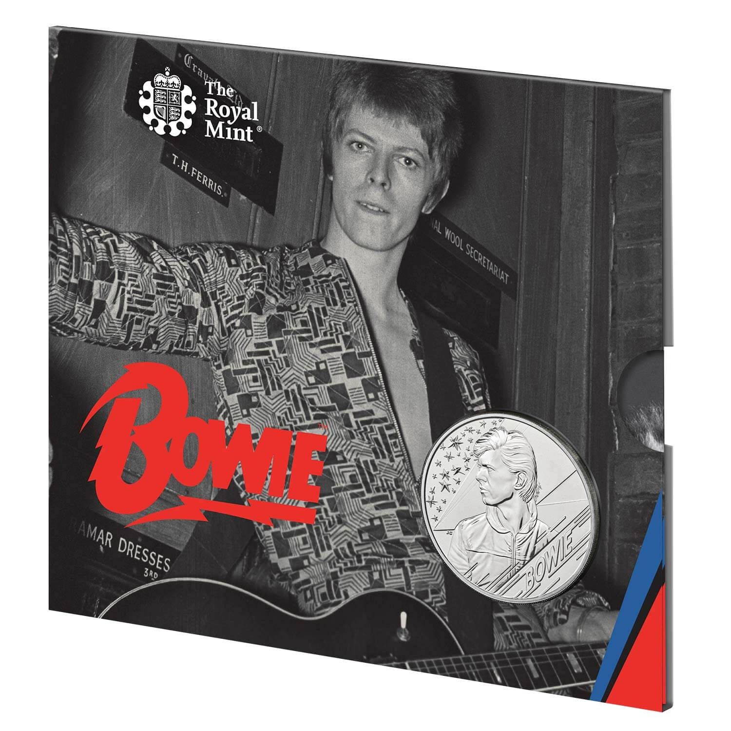 David Bowie 2020 £5 Brilliant Uncirculated Coin - Edition 3