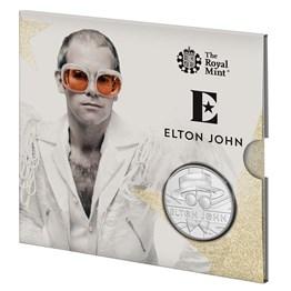 Elton John 2020 UK £5 Brilliant Uncirculated Coin - Rocket Man