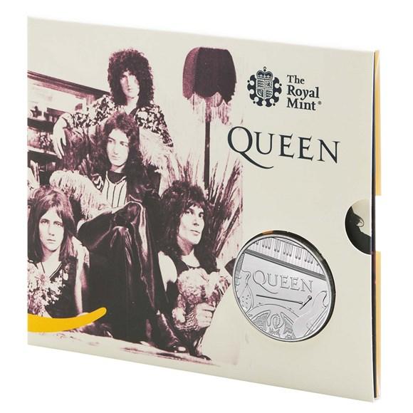 Queen £5 Brilliant Uncirculated Coin
