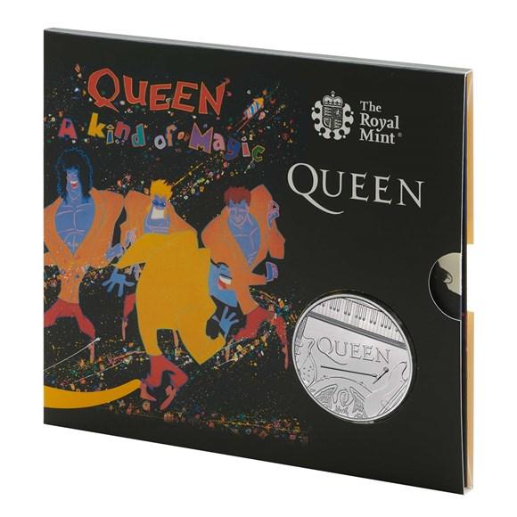 Queen £5 Brilliant Uncirculated Coin - A Kind of Magic