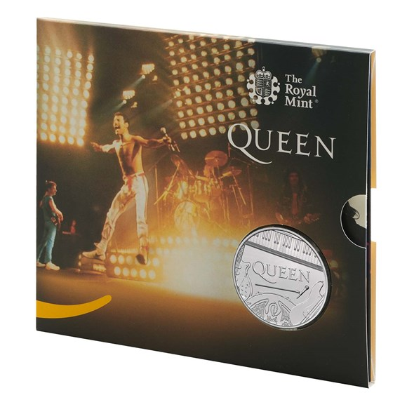 Queen £5 Brilliant Uncirculated Coin - Live