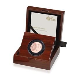 Rosalind Franklin 2020 UK 50p Gold Proof Coin