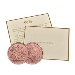 The Sovereign 2020 Brilliant Uncirculated - Anniversary