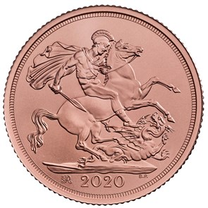 The Sovereign 2020 Gold Brilliant Uncirculated Coin