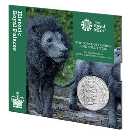 The Royal Menagerie 2020 UK £5 Brilliant Uncirculated Coin