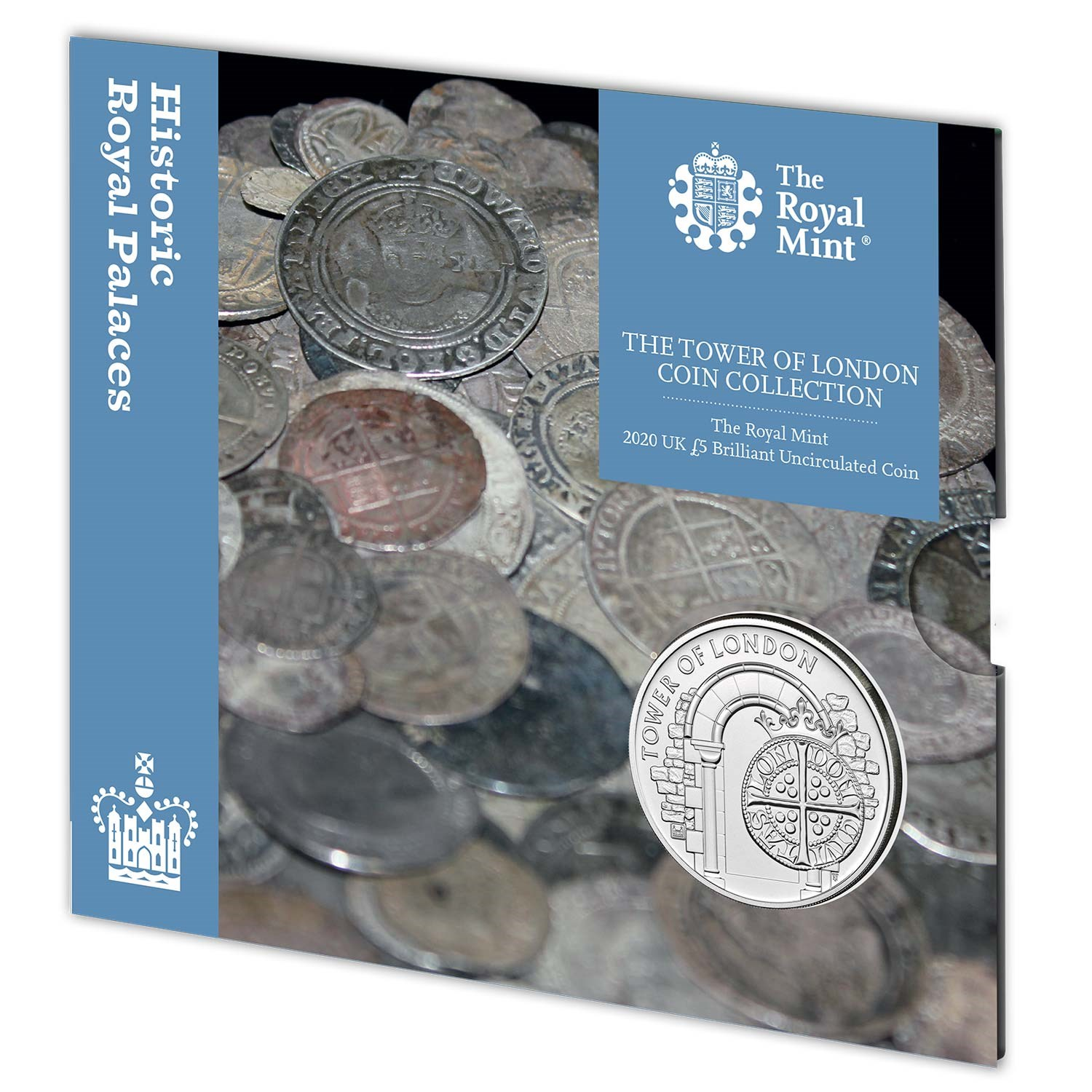 The Royal Mint 2020 UK £5 Brilliant Uncirculated Coin