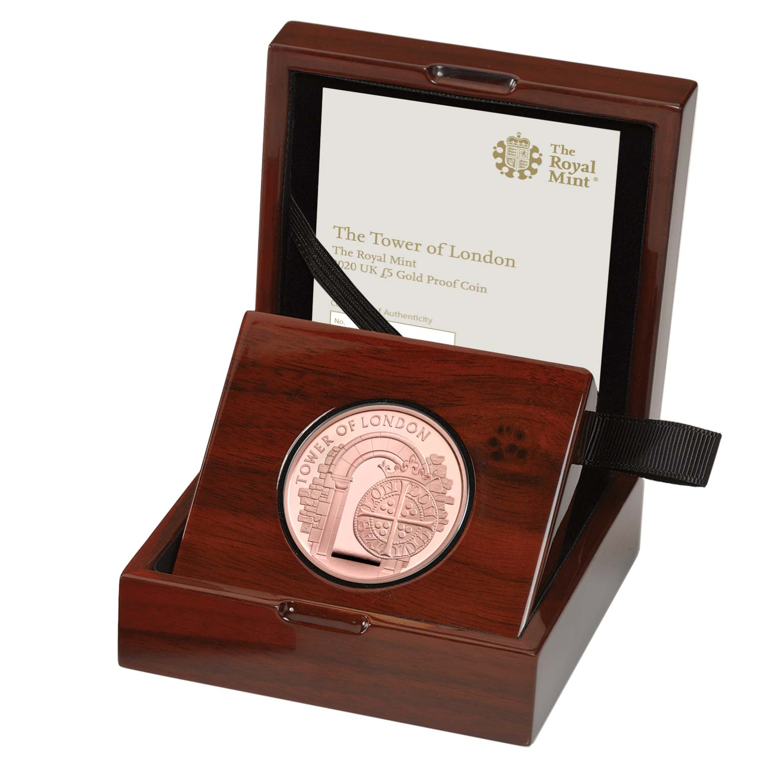 The Royal Mint 2020 UK £5 Gold Proof Coin