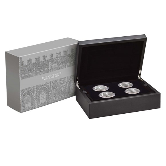 The Tower of London Collection 2020 UK £5 Display Box